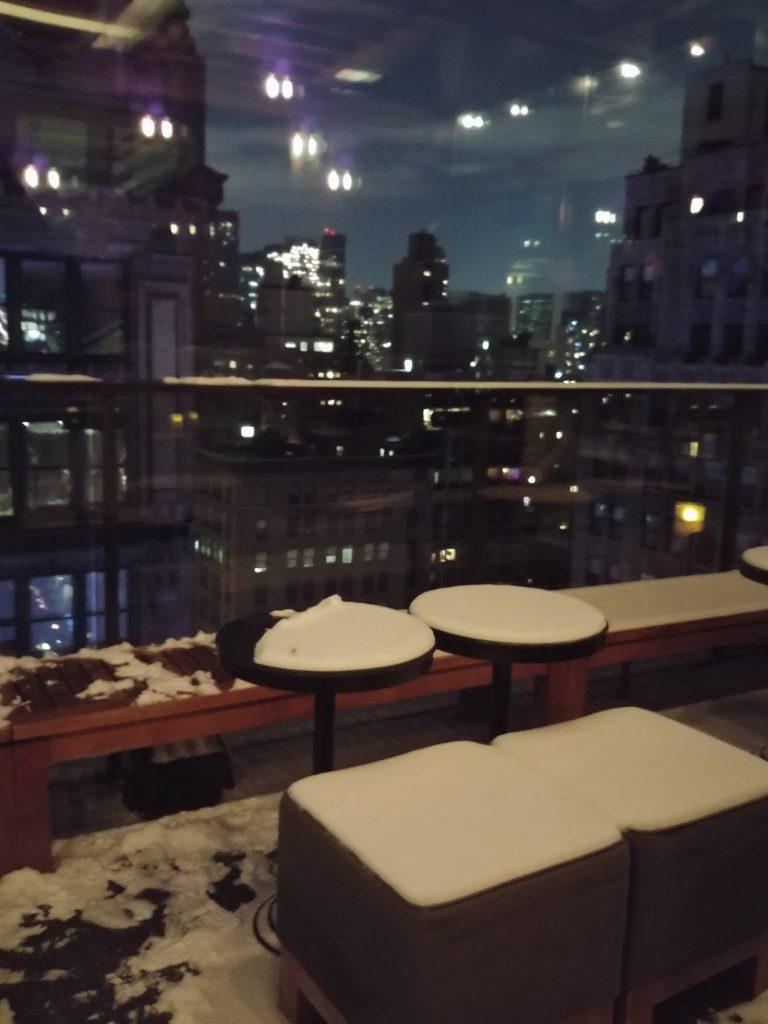 vista da rooftop