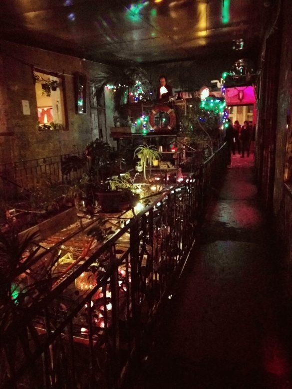 I famosi Ruins Pub di Budapest