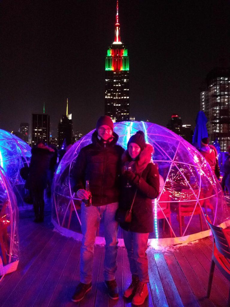 new york vista su empire state building