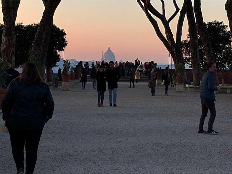 giardino-aranci-tramonto-roma