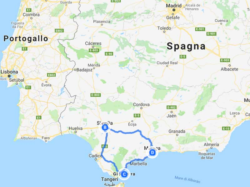 on-the-road-spagna-europa